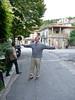 Scott in front of La Locanda ...