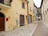 Street leading up to the Art Monastery in Calvi dell'Umbria.