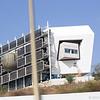 Unusual looking building near Tel Aviv