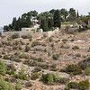 View from the walk up to the Church of the Visitation, Ein Kerem