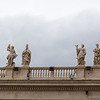 Saints overlooking St. Peter's Square