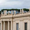 View of the Saints above St. Peter's Square