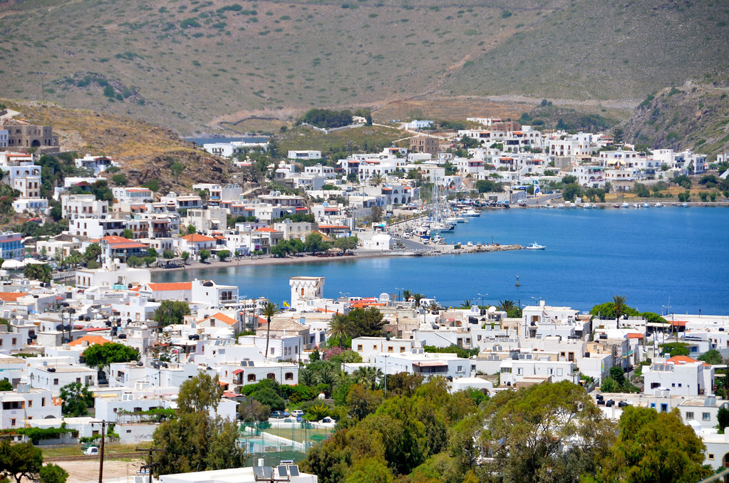 Patmos Greece...site of John writing Book of Revelations