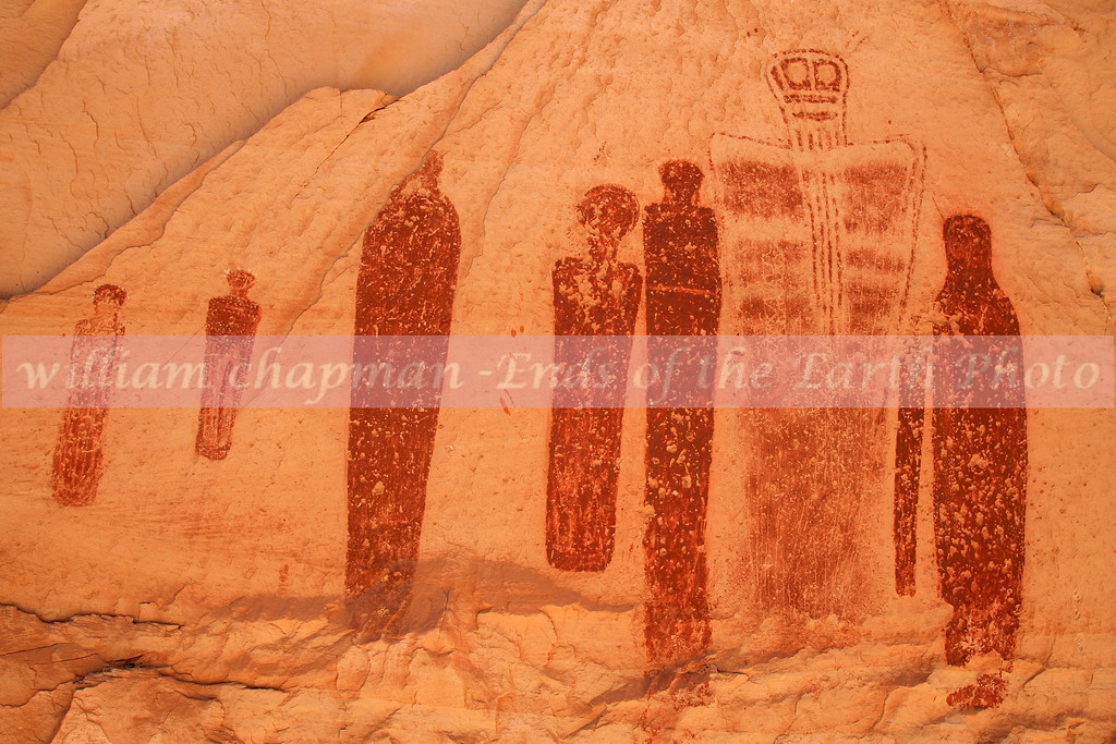 Ghost Figures- Great Gallery- Canyonlands NP