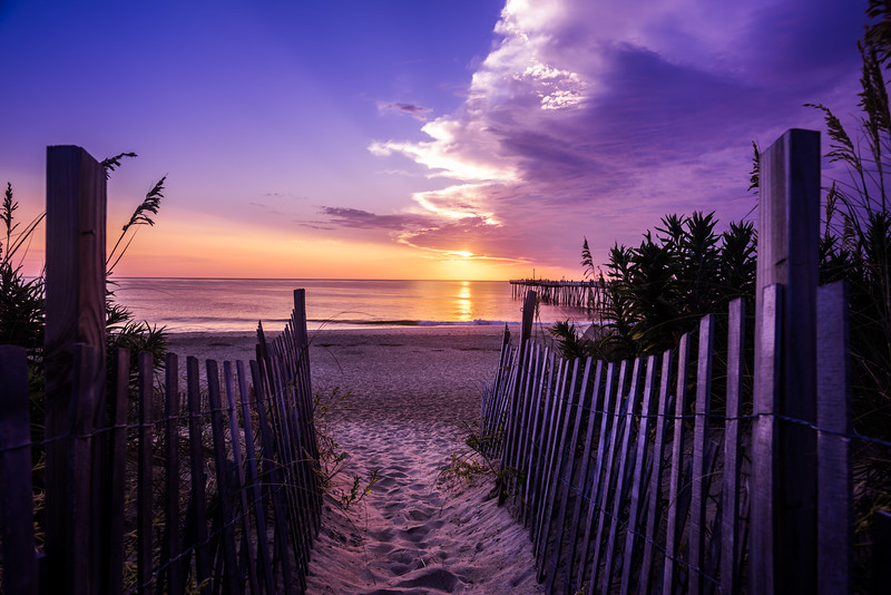 Morning in the Outer Banks