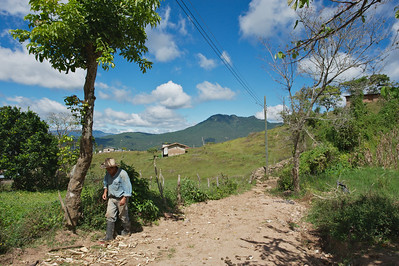 Road to Linaca, Honduras