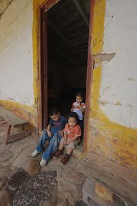 Children at Marta Suazo's home in Tatumbla, Honduras