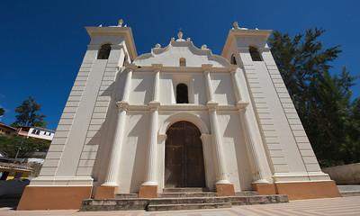 Church in Santa Lucia, Honduras