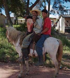 On the road to Linaca, Honduras