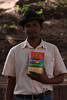 This guy, on the other hand... He was walking around showing off that book, but after your guard was supposedly down he'd ask for something you had. He tried to get us to give him cameras, rings and hats. At least he took 'no' for an answer easily enough (though I was glad I wasn't carrying a wallet at the time).