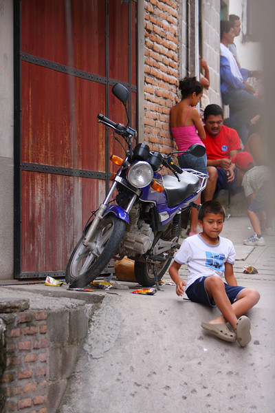 """And apparently motorcycles are to be on the list of """"Skip's traditional shots from Honduras"""" as well."""