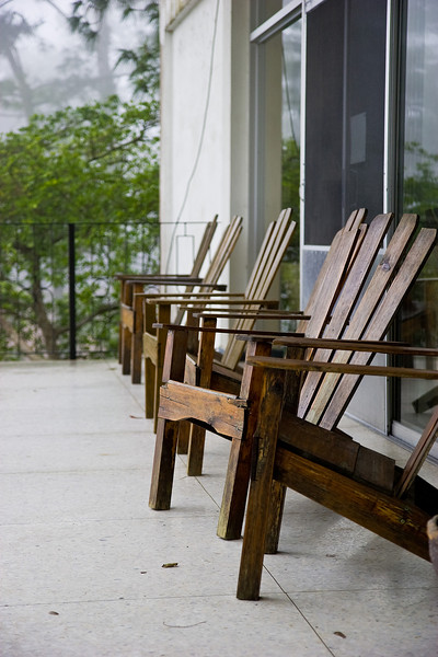 Okay, the chairs I'd seen before.