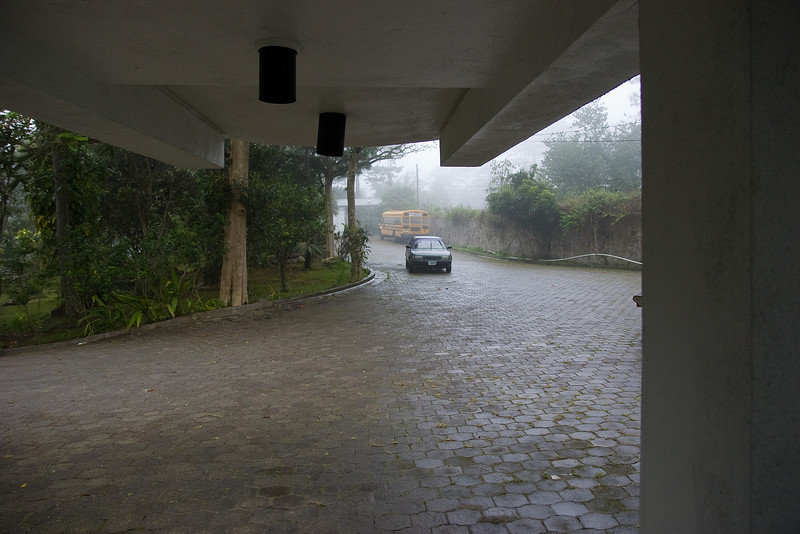 Now THIS is a driveway. Welcome to the clouds.