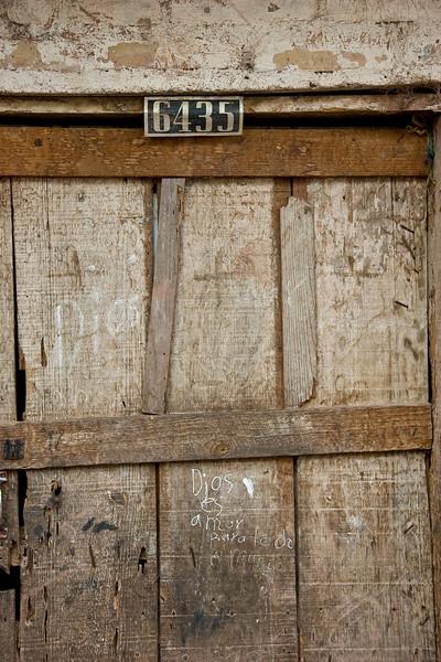 Maria's door. Y la casa de Paco. More about Paco later.