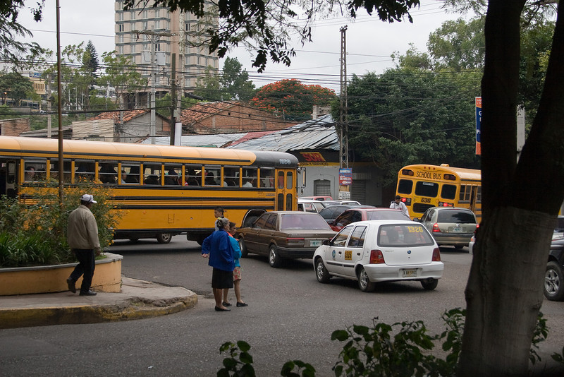 Traffic jam, Teguc style.