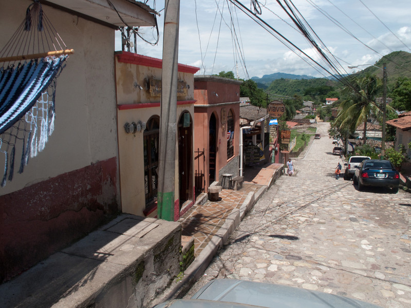 Downtown Copan, Via Via Restaurant
