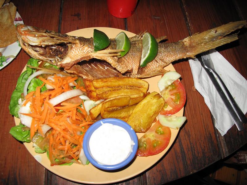 I typical island meal