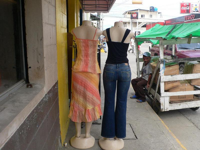 Model butts, Tela, Hinduras