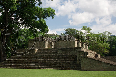Side of the ball court. Can you tell I like the ball court? Ruinas de Copan, Honduras.