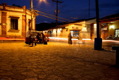 Copan, Honduras at night