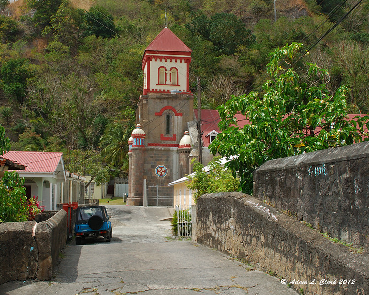 Roman Catholic Church of St. Mark in Soufriere