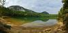 Panoramic view from Echo Lake