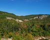 Cliffs along the Swift River and Kancamagus Highway