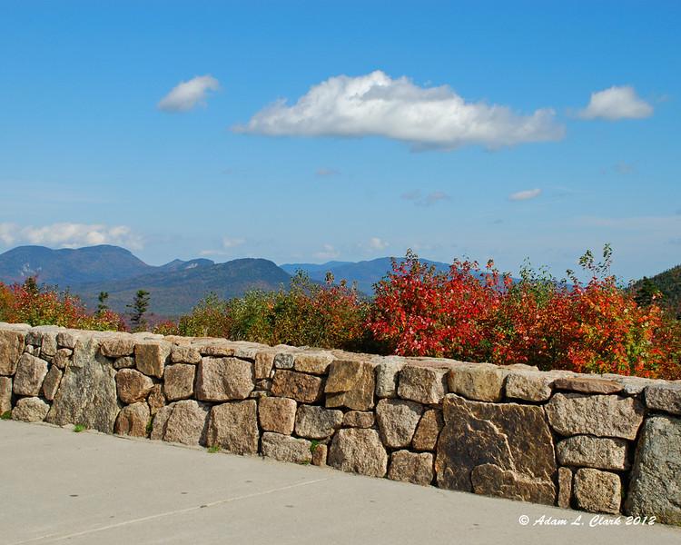 C.L. Graham Wangan Ground Scenic Overlook on the Kancamagus Highway