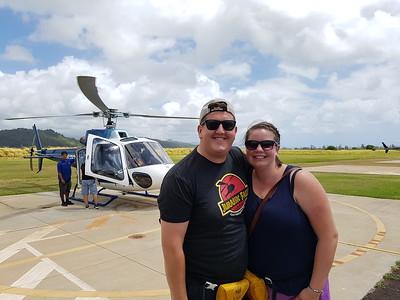 Day 3 - Chopper Tour, Dinner at Dukes