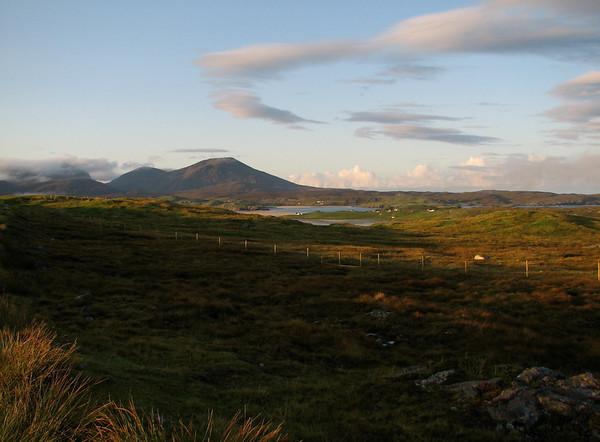 Isles Harris, Lewis, the ferry to Skye, and Skye