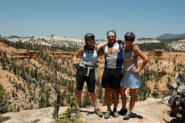 The coolest guides ever: Moon, Buck and Jess.