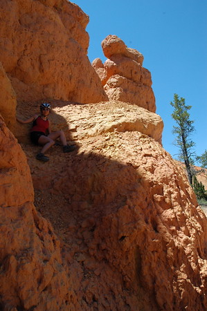 Rock slide.