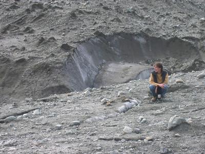 Ben on the Glacier.