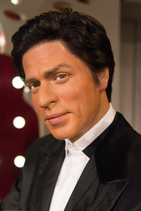 Sharookh Khan - Indian Bollywood star. Madame Tussauds Hong Kong, part of the renowned chain of wax museums founded by Marie Tussaud of France, is located at the Peak Tower on Hong Kong Island in Hong Kong.