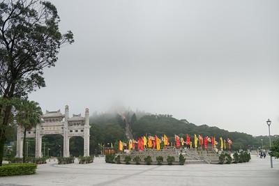 Ngong Ping Big Buddha, Hong Kong.