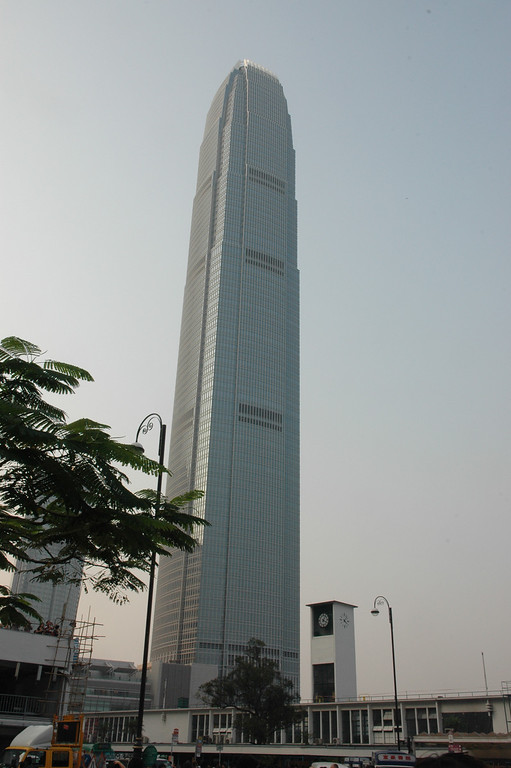 IFC and Star Ferry Tower