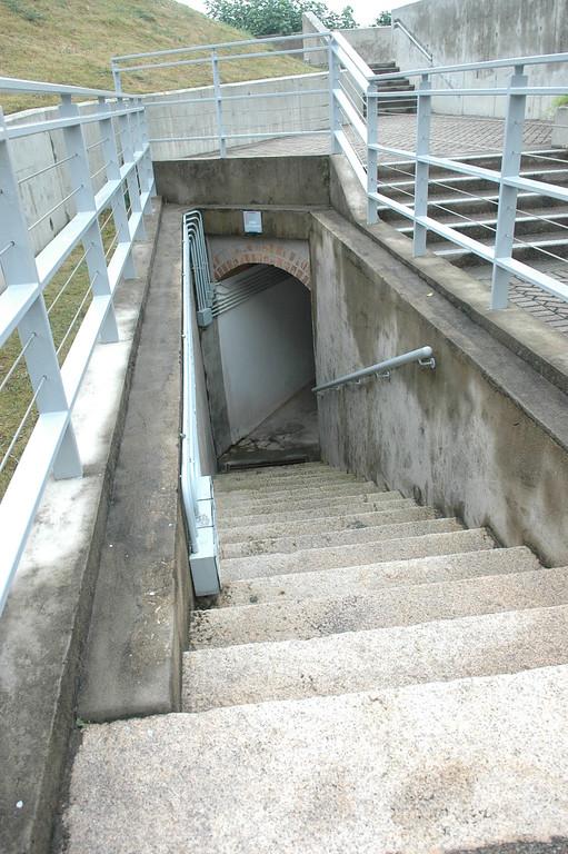 Ammunition Storage and Stairs, Coastal Defense Museum