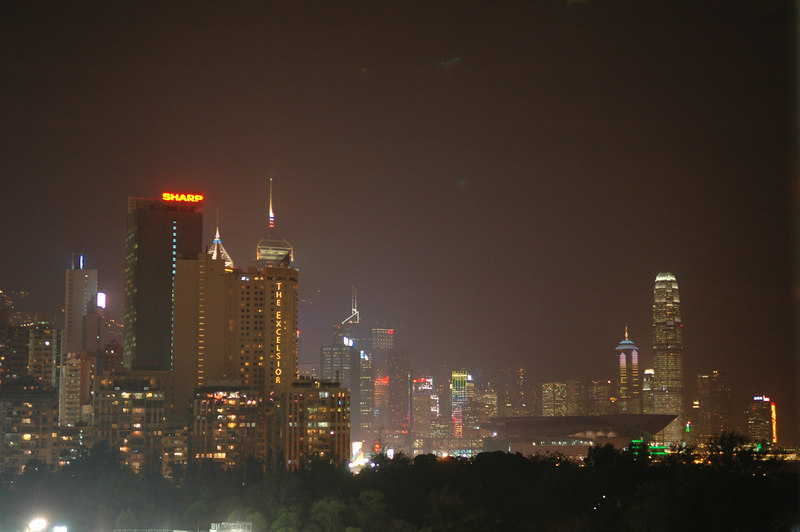 Skyline at night