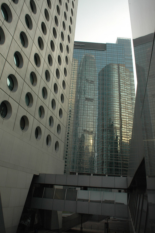 Jardine Center and IFC reflection