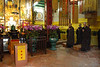 Buddhist monks perform a ceremony
