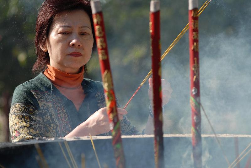 Ancestor worship is everywhere in Hong Kong