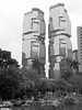Lippo Buildings from Hong Kong Park<br /> <br /> Copyright 2008 Adam Brown