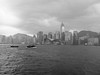 Hong Kong Island from the Star Ferry<br /> <br /> Copyright 2008 Adam Brown