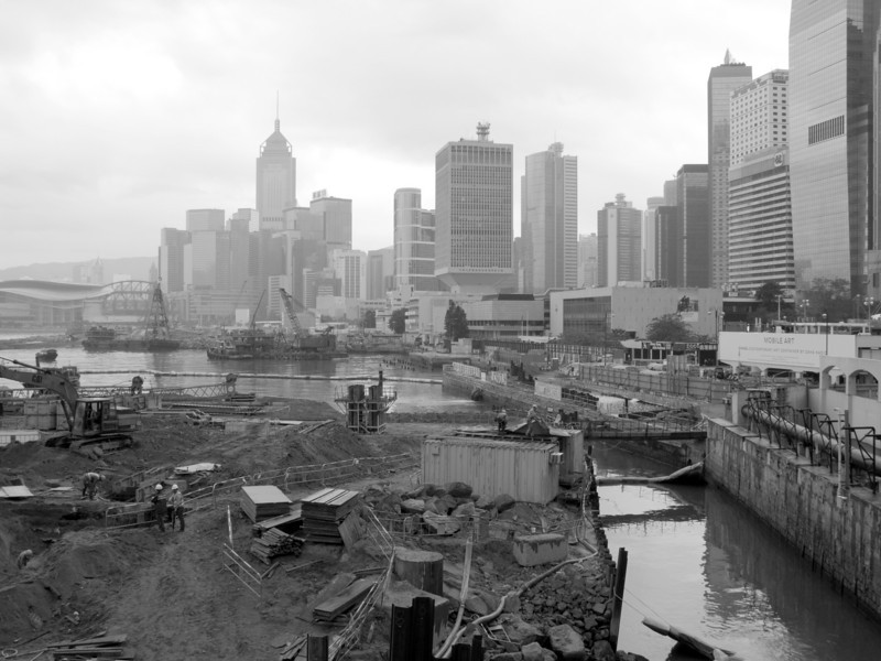Hong Kong Island Reclamation Project<br /> <br /> Copyright 2008 Adam Brown