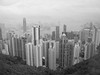 Hong Kong Island from the Peak<br /> <br /> Copyright 2008 Adam Brown