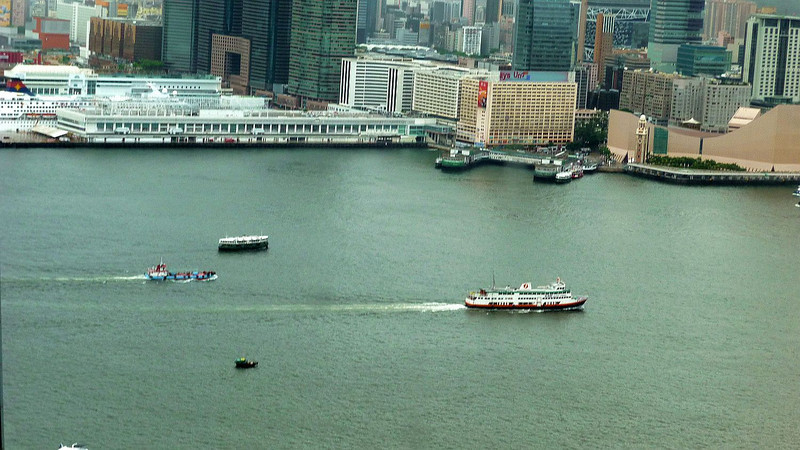 Kowloon from Bank of China tower