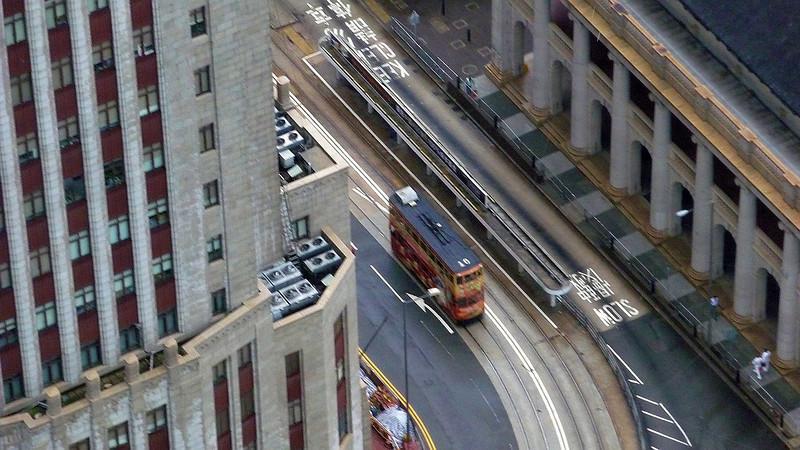 Tramcar in Queen's Road