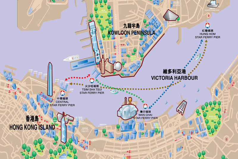 Star Ferry routes