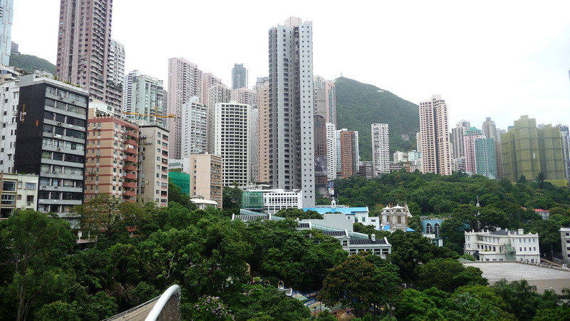 The remaining part of old Hong Kong