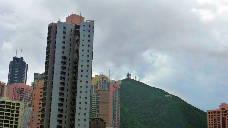 View towards the Peak